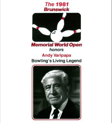 1981 World Open Cover