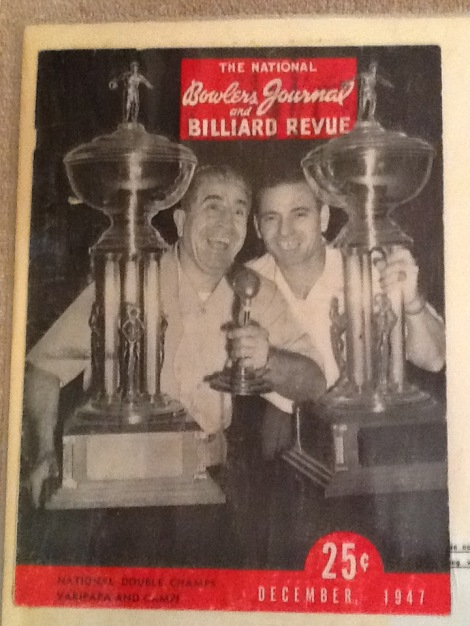 1947 National Doubles Champions - Andy Varipapa & Lou Campi