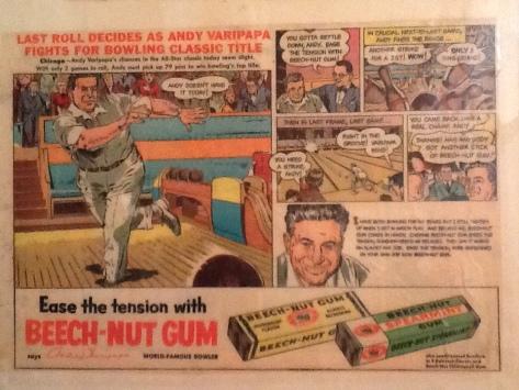 Beech-Nut Gum, 1955