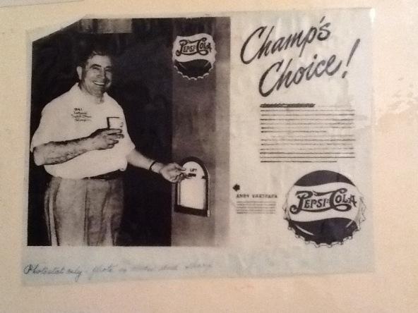 Pepsi-Cola ad, 1950's
