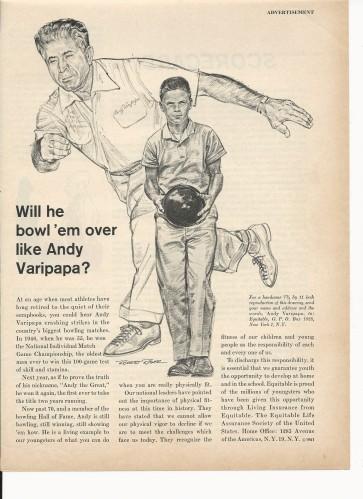 Equitable Life Ad - 1960's