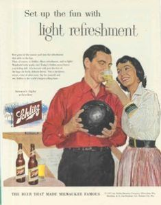 Schlitz Bowling Ad