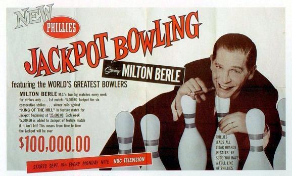 "Varipapa Wins Milton Berle's ""Jackpot Bowling"" (1959)"