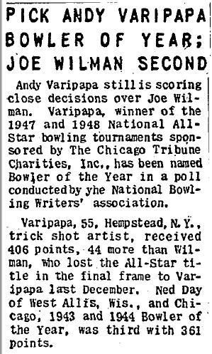 Andy BOY - 31 Aug 1948
