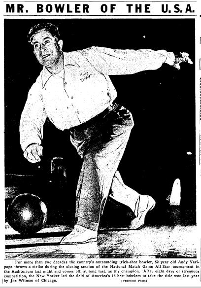 Mr. USA Bowler - 9 Dec 1946